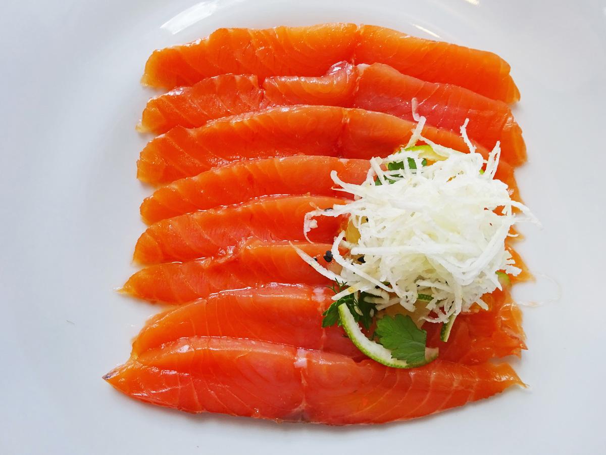 Plato salmón